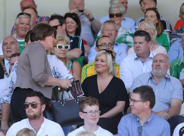 Arlene-Foster-at-the-Ulster-Final